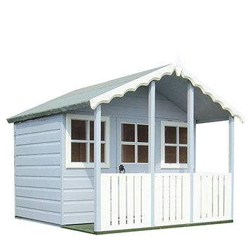 Beautiful Kids Wooden Playhouse with Optional Platform