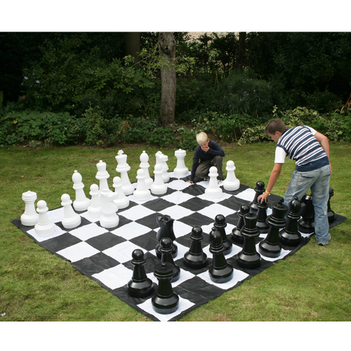 Classic Giant Jumbo Plastic Chess Pieces (60cm tall)
