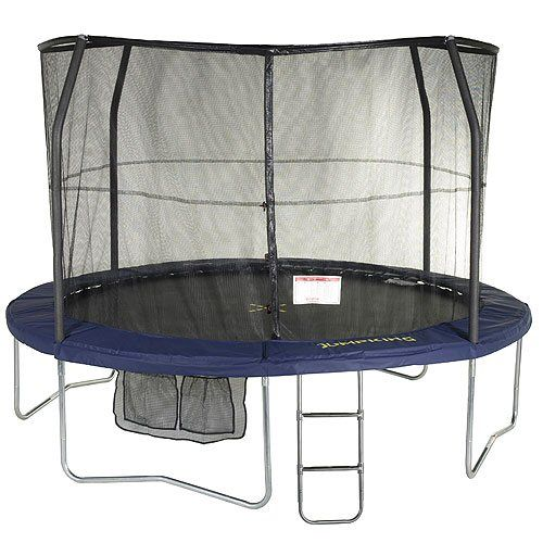 Deluxe Round Jumpking JumpPOD Trampoline 14ft