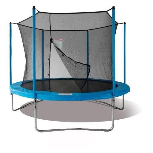 Duplay 8ft Blue Garden Trampoline with Safety Net