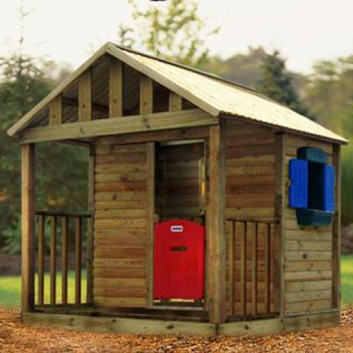Kingston Tykes Timber Quality Wooden Playhouse